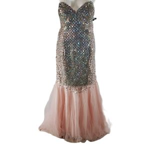 [Glamour by Terani Couture] Size 18 Mermaid Dress